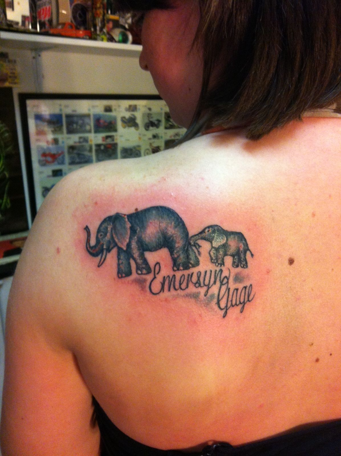 Mother and son tattoo with name mother son tattoo pinterest mother and son tattoo with name biocorpaavc