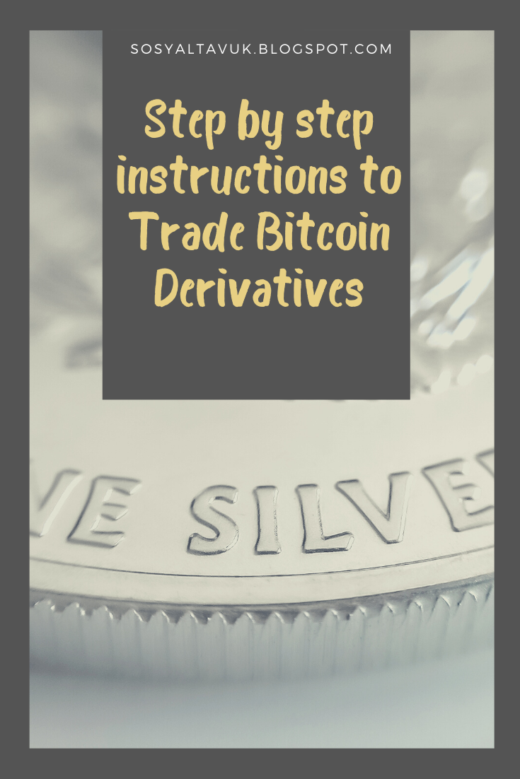 Step By Step Instructions To Trade Bitcoin Derivatives Bitcoin Step By Step Instructions Trading