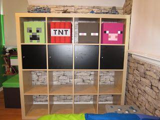 Minecraft Schlafzimmer ~ Minecraft room creeper tnt enderman and pig boys bedroom ideas