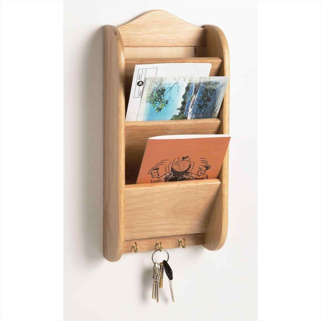 45 DIY Creative Key Holder for Wall Decor Ideas Wooden