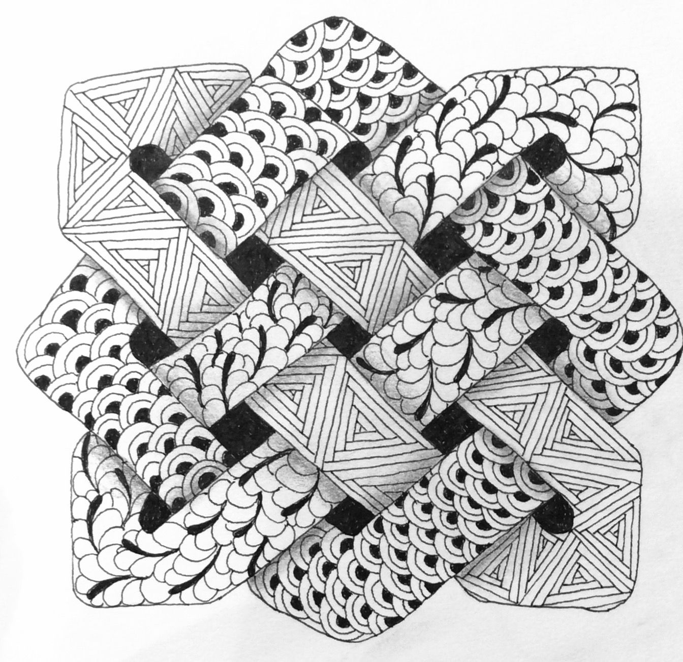 Pin By Vicki B On Zentangle