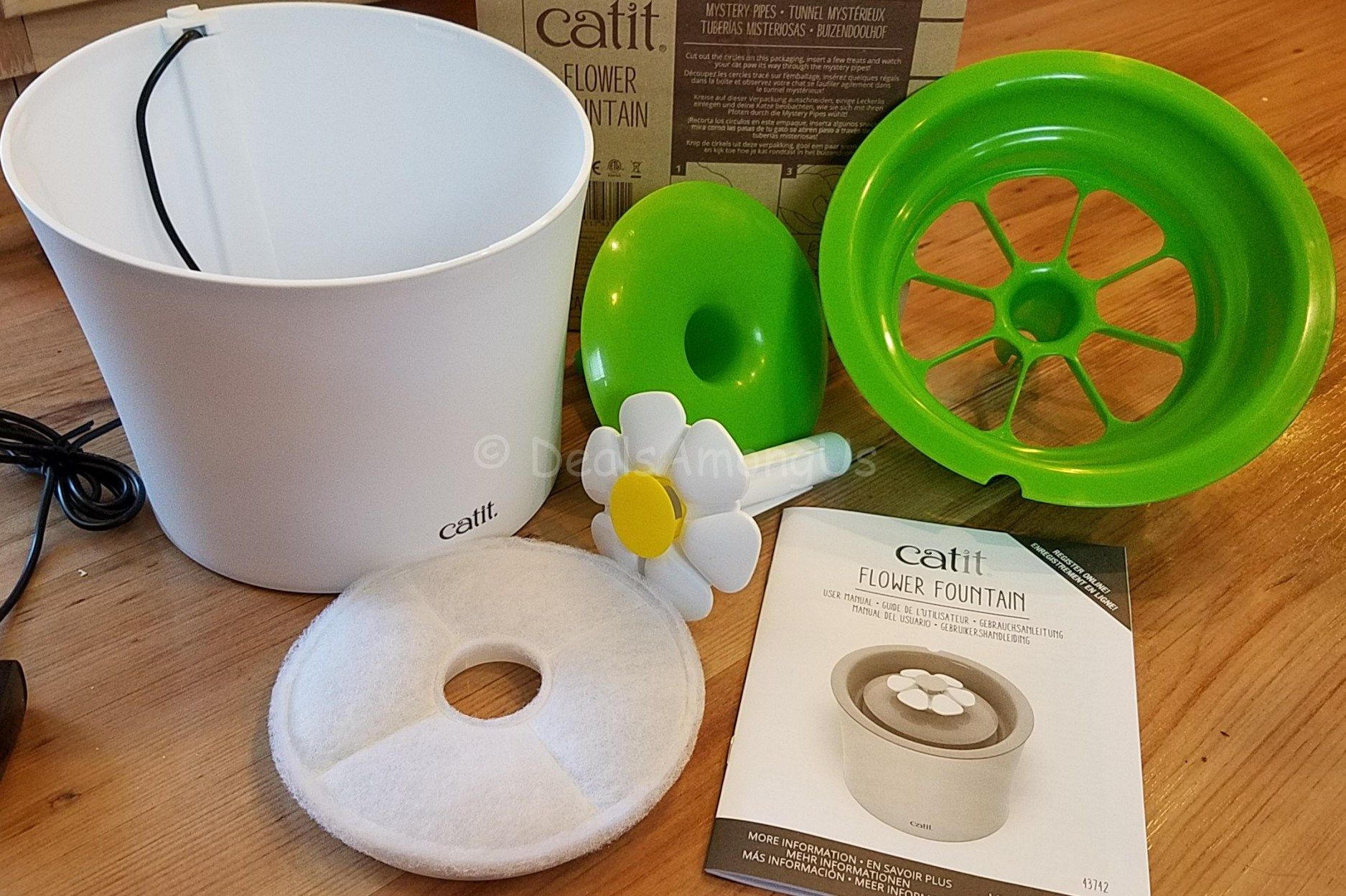 Catit flower drinking fountain review drinking fountain