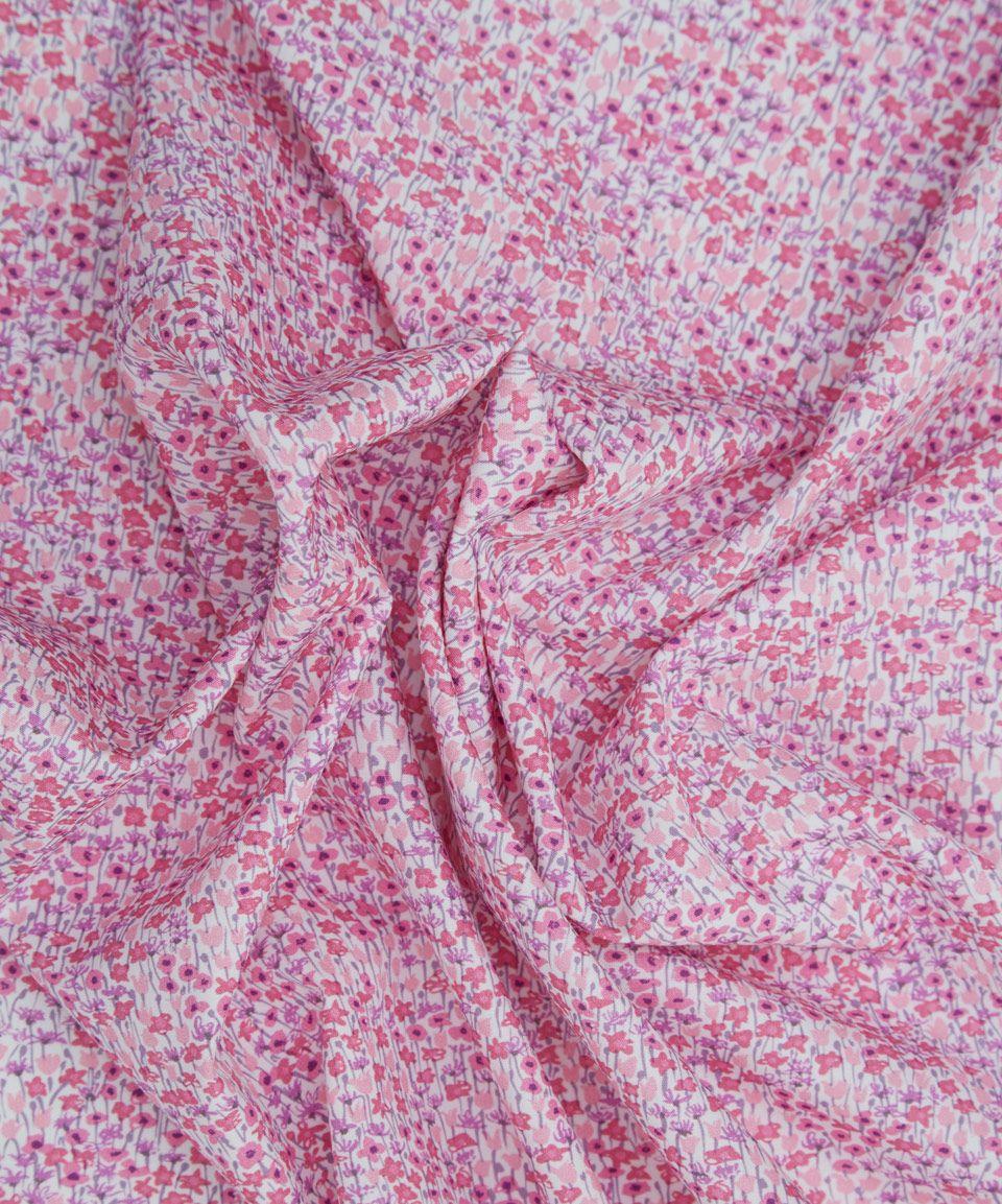 Liberty Art Fabrics Loveday B Cotton Saville Poplin | Fabric | Liberty.co.uk