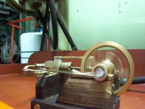 Motor Casero De Aire Comprimido Motor De Aire Comprimido Aire