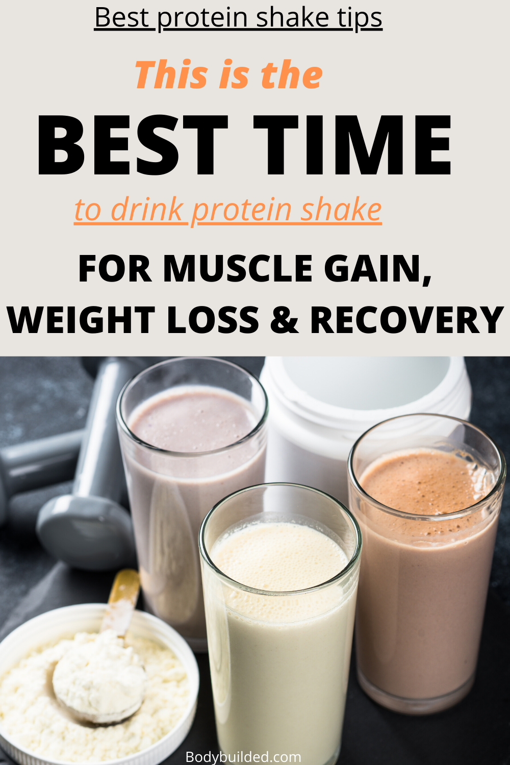 Protein Shake Before Or After A Workout Healthy Diy Protein Shake Recipes For In 2020 Healthy Protein Shakes Healthy Protein Shake Recipes Whey Protein Recipes Shakes