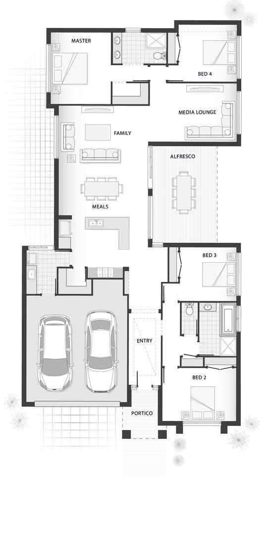 Standard Floorplan For The Cebel Casas Pinterest Grundrisse