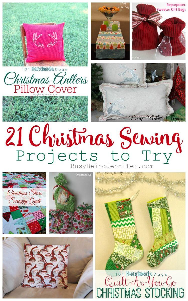 Christmas Sewing Projects | Christmas sewing projects, Christmas ...