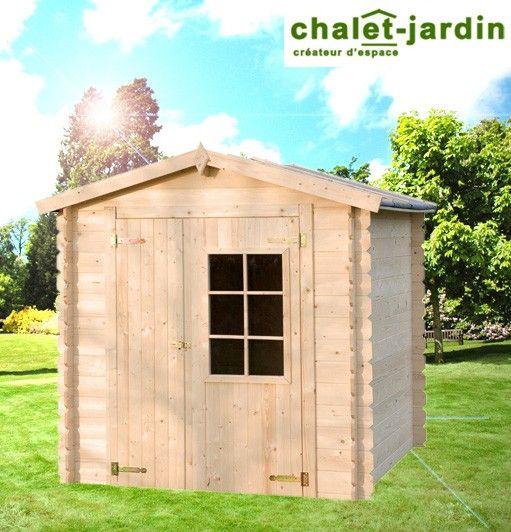 Abri de jardin bois 3.92 m² AZUR Chalet-Jardin Prix: 709€ Contactez ...