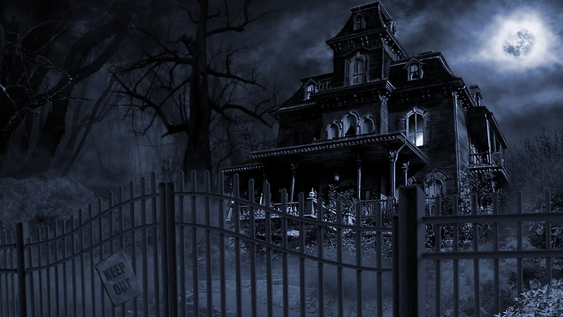 Spooky Wallpapers Dark Spooky Wallpaper Background 1920 X 1080 Id 209828 Wallpaper Real Haunted Houses Scary Houses Haunted Mansion Wallpaper
