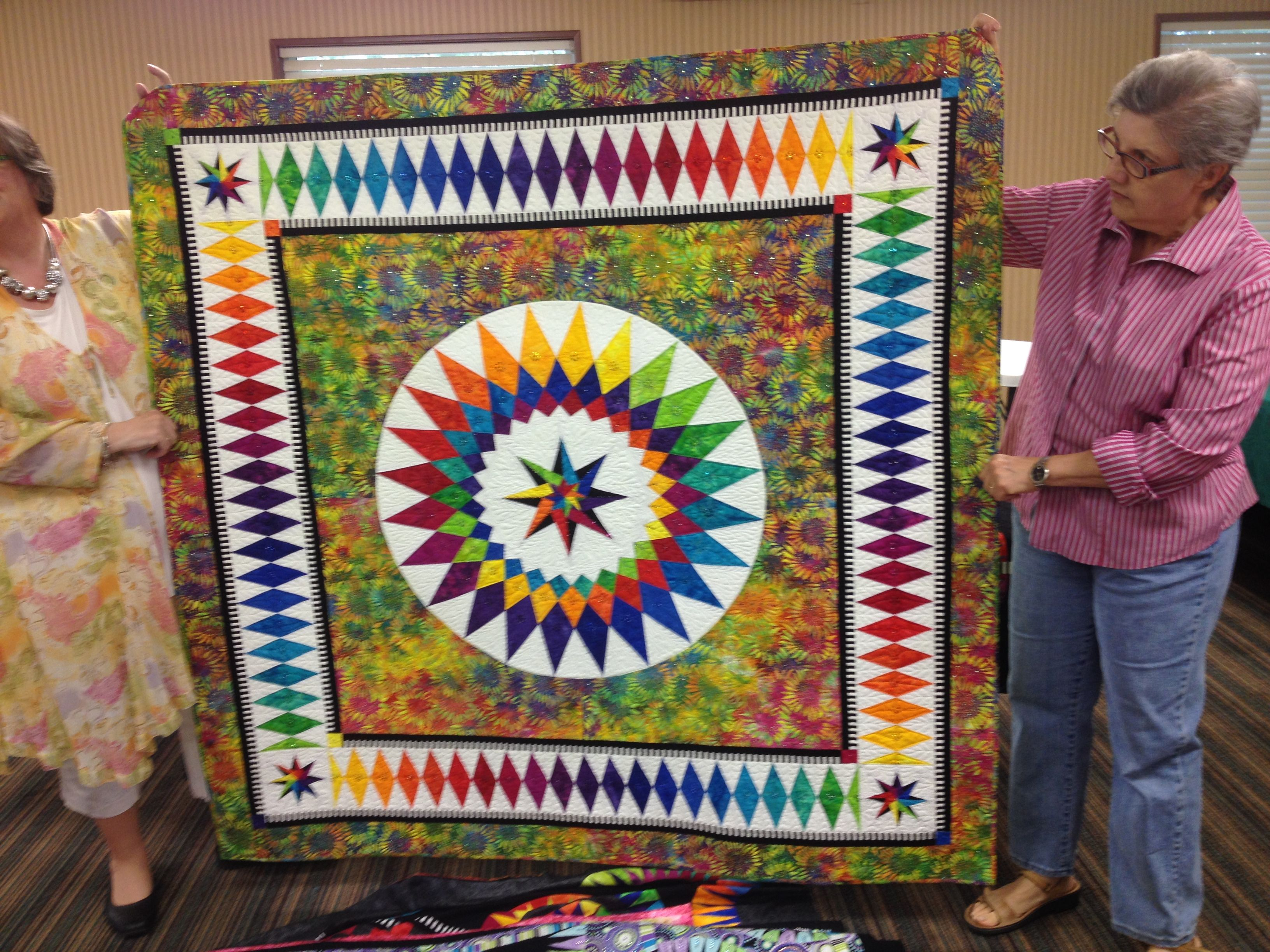 Summer Dream by Jacqueline de Jonge of Becolourful.nl. Pic taken ... : quilts by the bay - Adamdwight.com