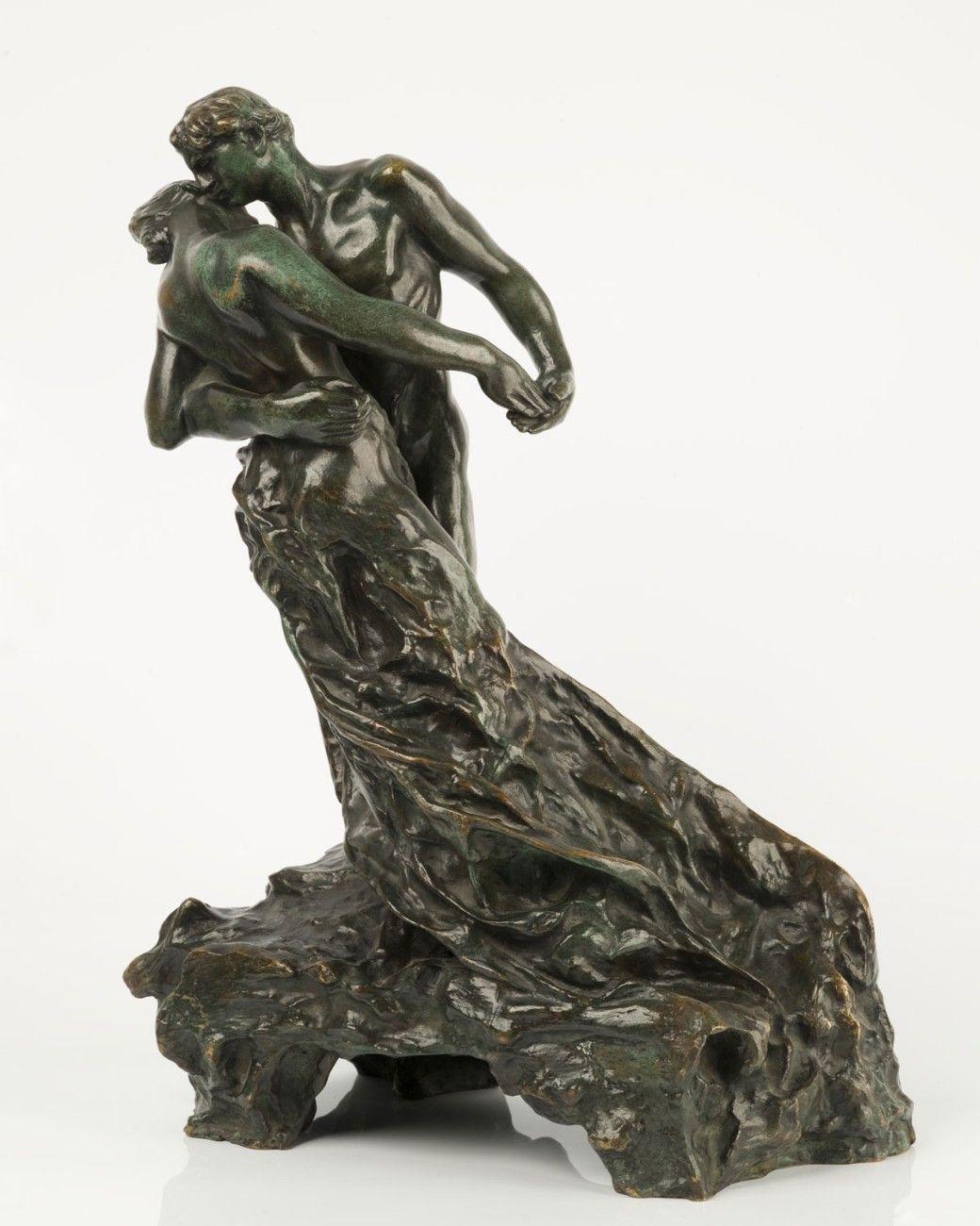 """"""" La Valse """"  (ou Les Valseurs)  -  Camille Claudel 1889-1905. Bronze."""