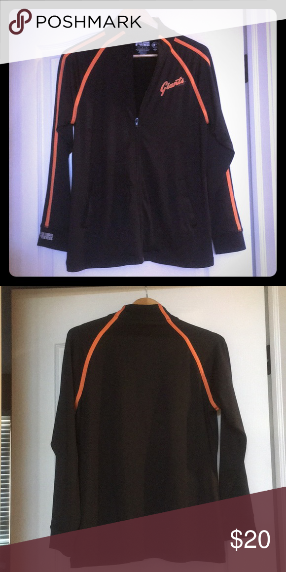 c53903fe1 MLB San Francisco Giants zip up 88% Polyester 12% Spandex Tops Sweatshirts    Hoodies