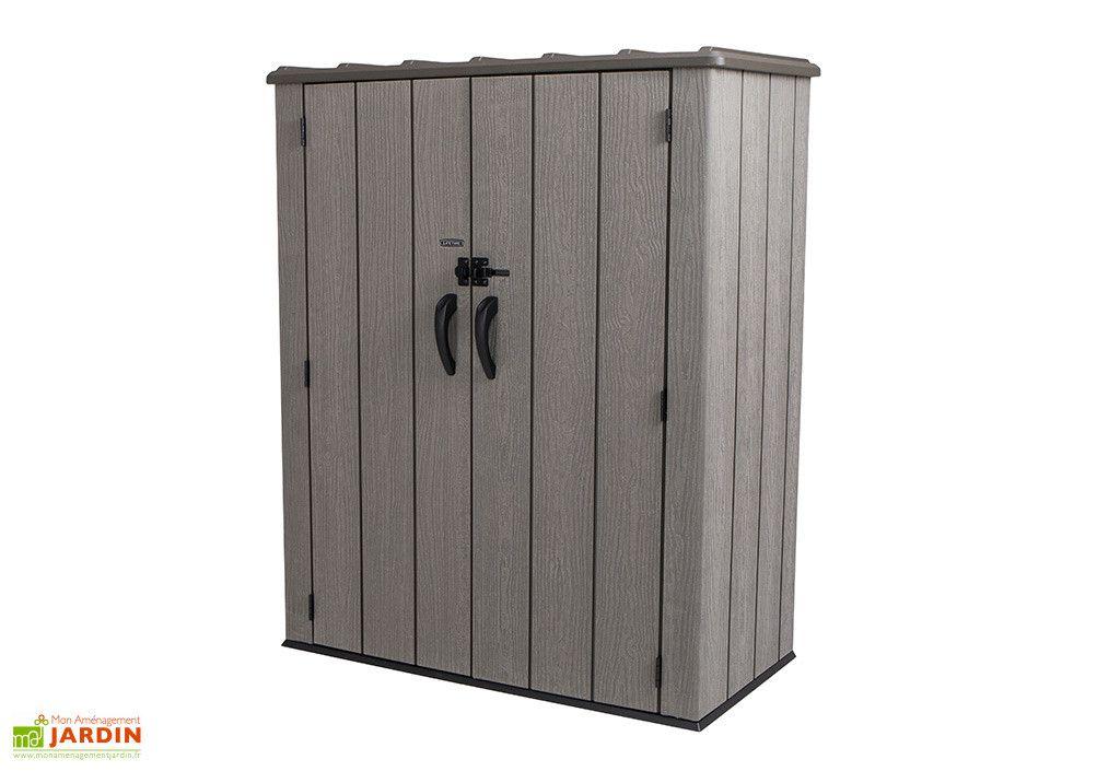 armoire de rangement jardin en pvc