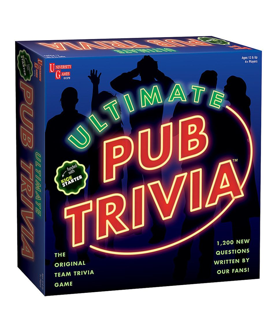 Look what I found on zulily! Ultimate Pub Trivia Game by