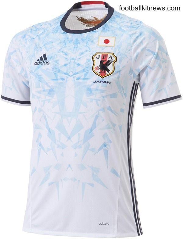 Japan Away Football Shirt 2016  69d48685fabb4