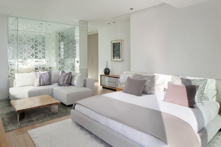 Assortir les couleurs  lu0027exemple du0027une belle maison à Ibiza - exemple de couleur de chambre
