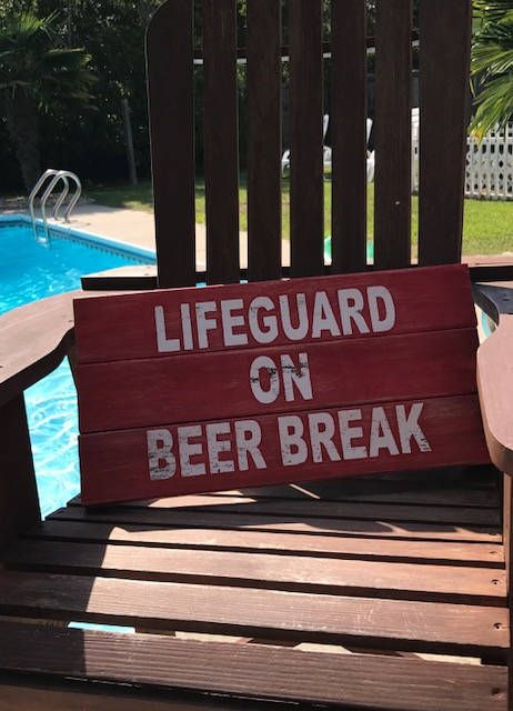 Pool Signs Pool Decor Pool Lifeguard Pool Decorations Swimming