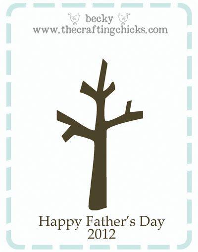 father s day handprint tree harriet can make pinterest hand