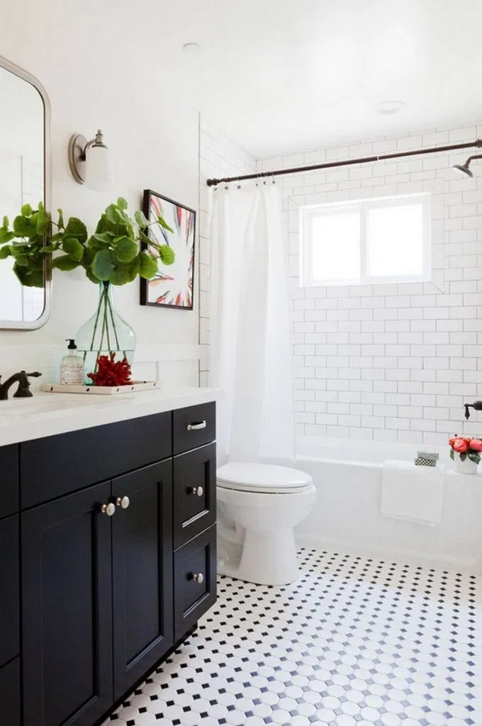 41 Modern Farmhouse Bathroom Reveal With Boho Vibes Farmhouse