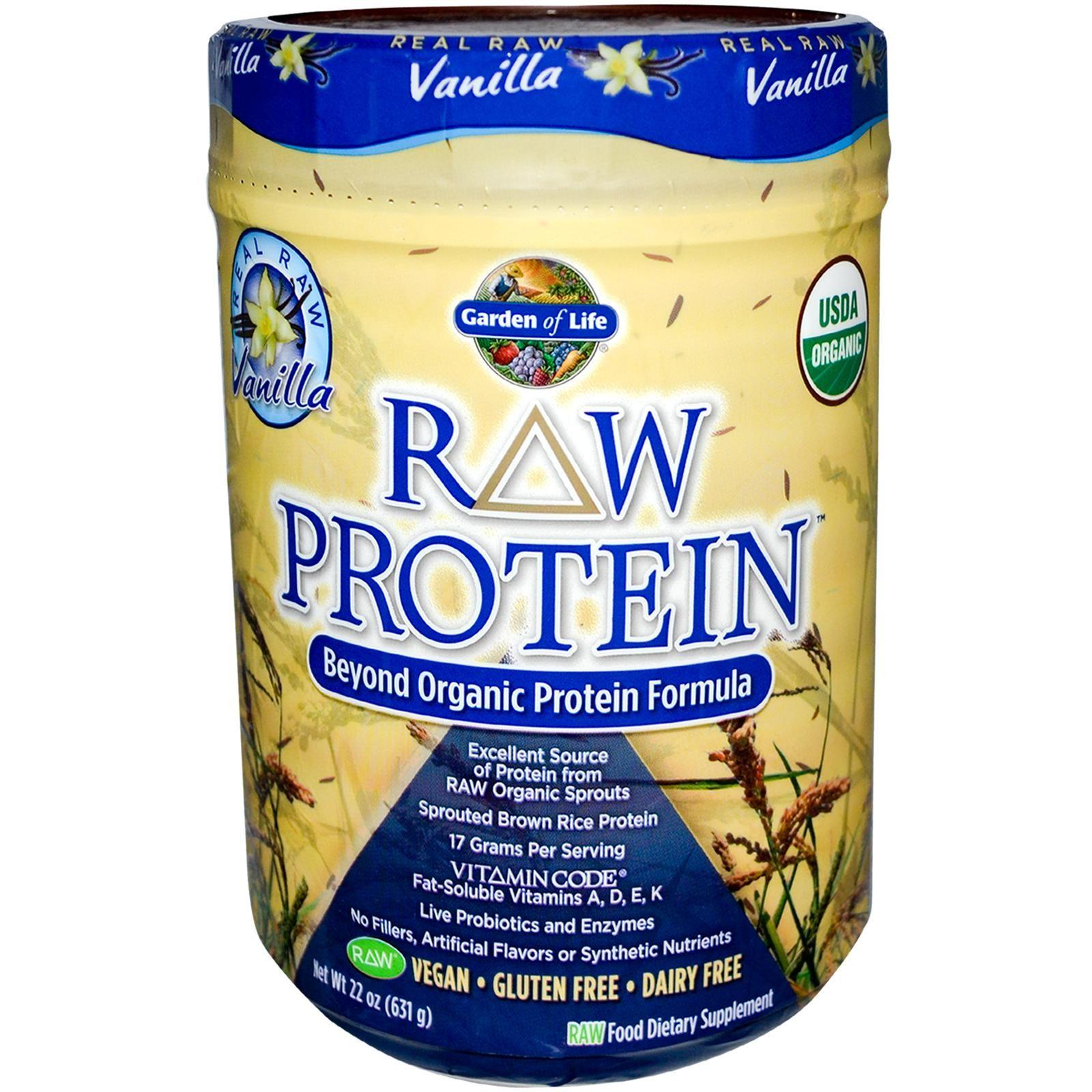 Garden of Life, RAW Organic Protein, Organic Plant Formula