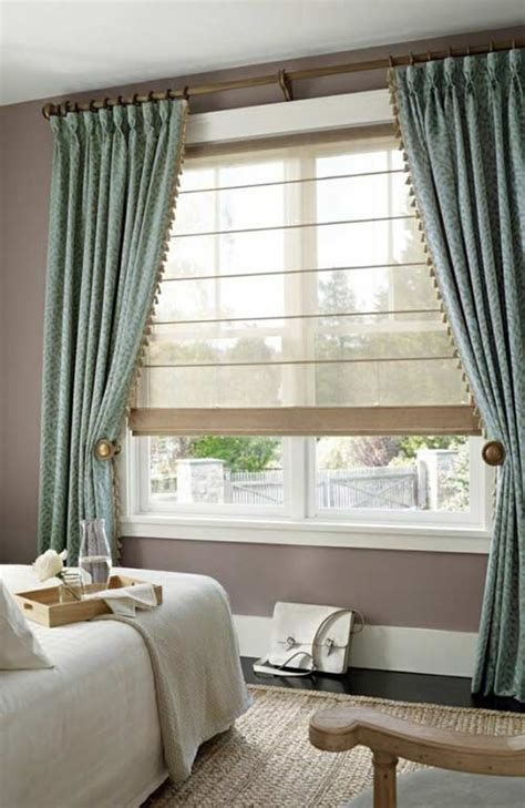 40+ Bedroom Curtain Ideas (For Master, Small, and Children ... on Master Bedroom Curtain Ideas  id=60801