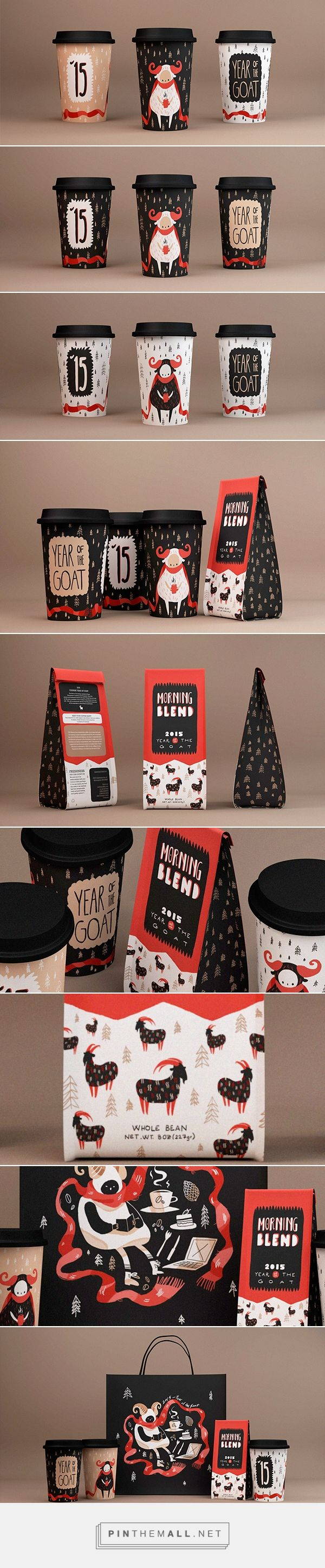 Chinese Year of the Goat / Coffee packaging PD