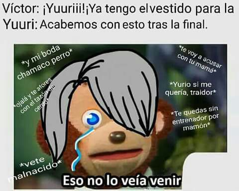 Yuri On Ice 2017 Memes De Libros Memes Otakus Memes Divertidos