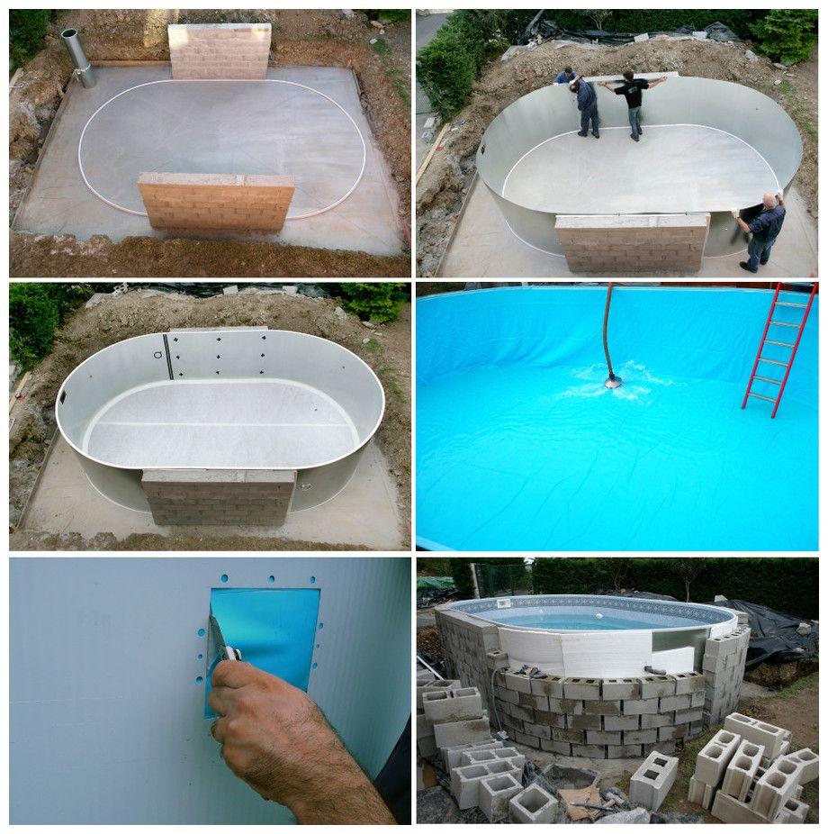 kit piscine acier enterree sumatra