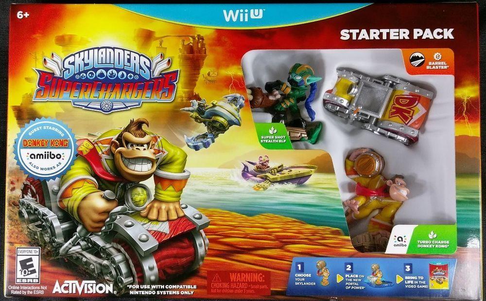 Skylanders SuperChargers Racing Starter Pack Wii U Donkey