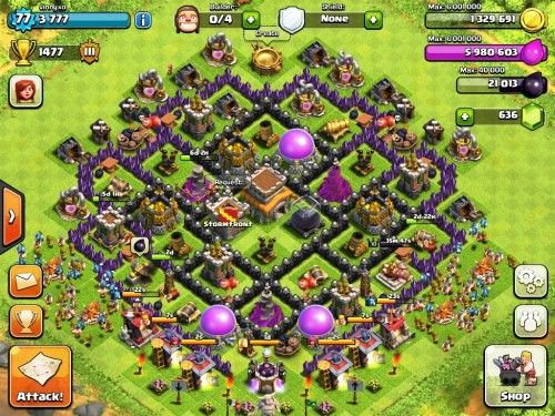 Base Coc Th 8 Terkuat 1