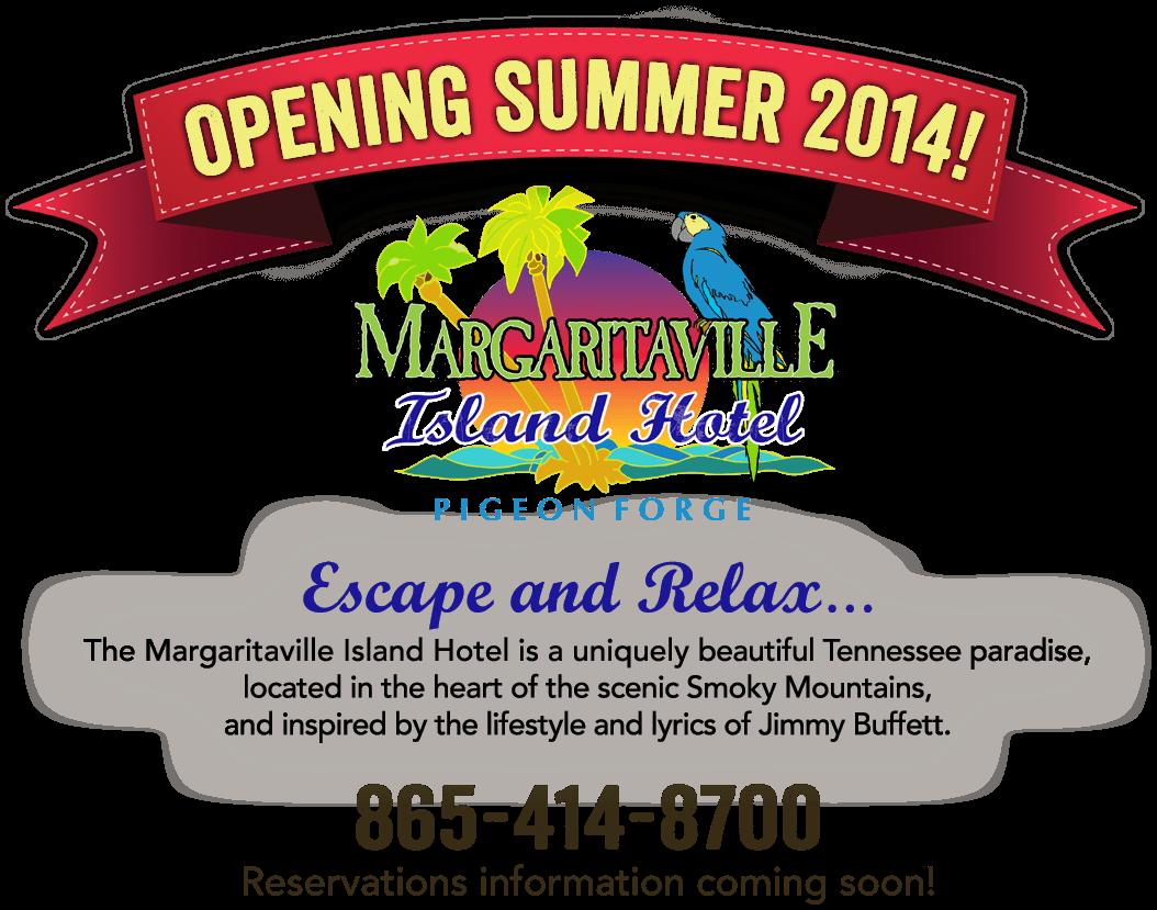Opening Summer 2014! Margaritaville Island Hotel - Pigeon Forge ...