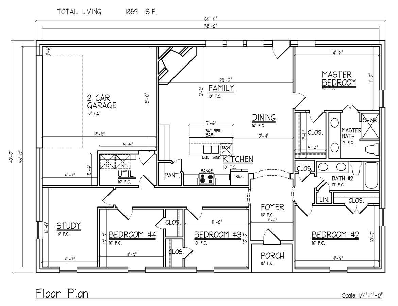 Fan S Metal Building Home In Edom Texas 10 Pictures Floor Plan