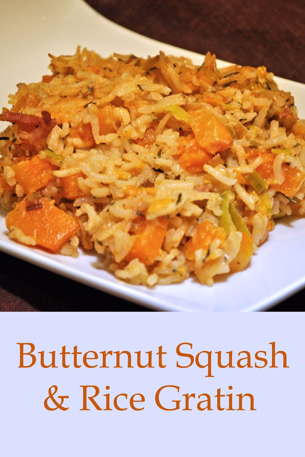 Butternut Squash And Rice Gratin Recipe With Images Side