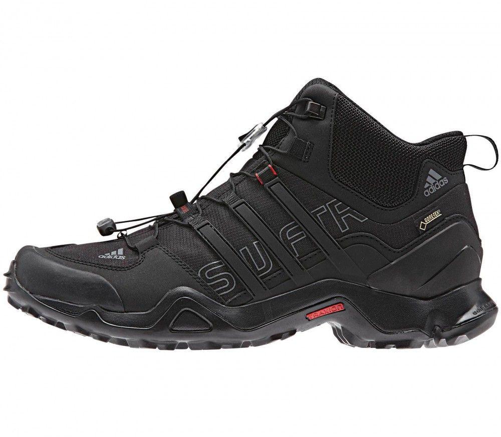 meet e001d 7d863 Adidas - Terrex Swift R Mid Gore-Tex Hombre bota de trekking (negro gris)