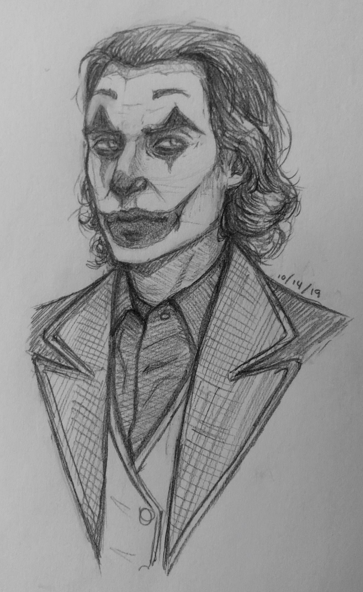 Joaquin Phoenix Joker Sketch By Supertwisty Desenhando Esbocos Desenho De Rosto Desenhos De Rostos