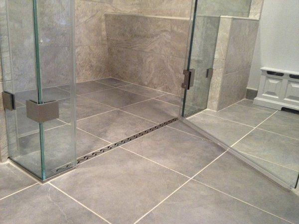 A Hot Trend In Bathroom Design Modern Curbless Shower Ideas