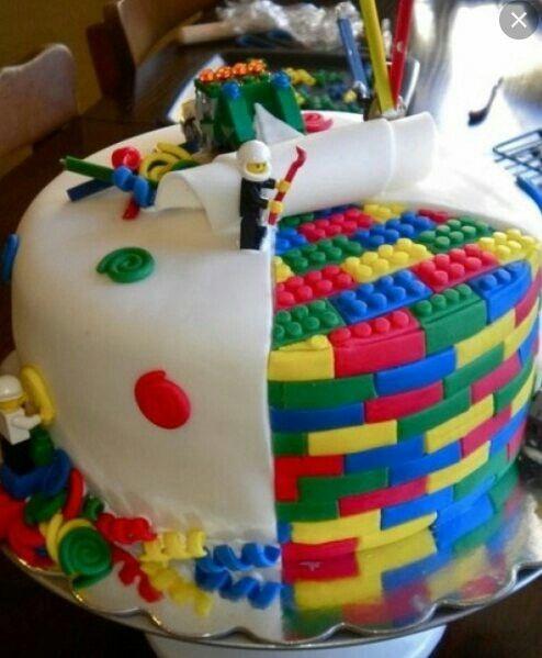 Cool Kids Cake Lego