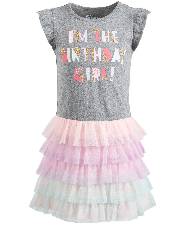 7dfdac850ef76 Birthday Girl Dress, Little Girl Birthday, Little Girls, Tulle Dress, Cute  Dresses