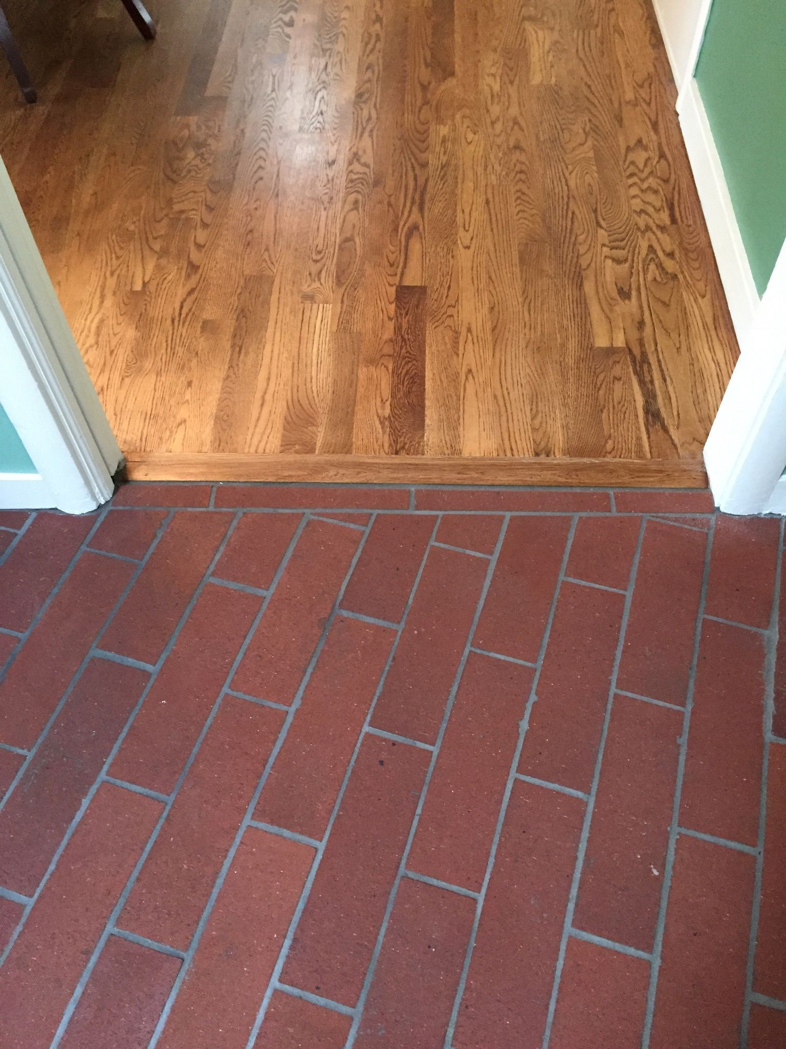 Close Up Of English Chestnut Stained White Oak Floors With
