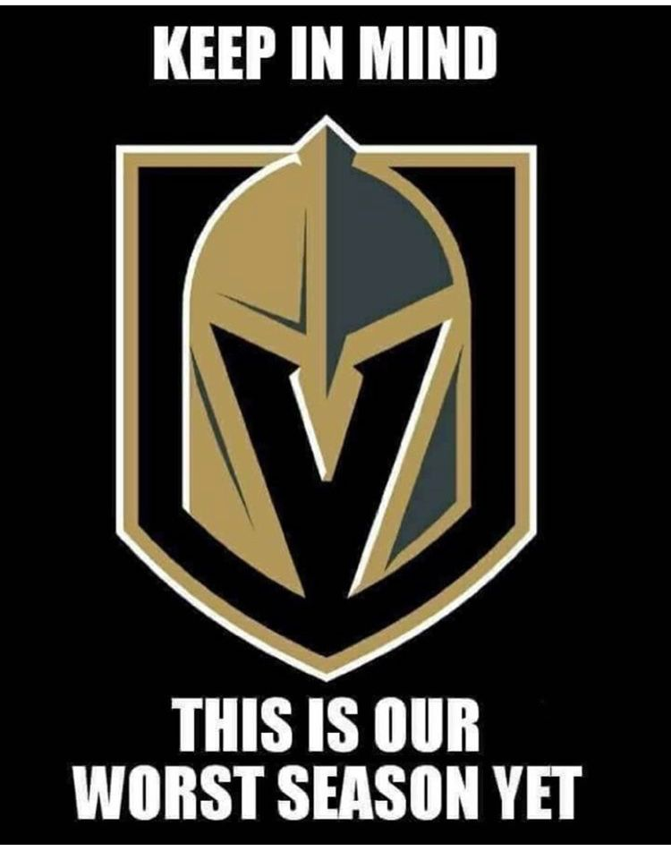 We Re Only Going To Bring It Twice As Hard Next Season Watch Out Hockey Fans Golden Knights Hockey Vegas Golden Knights Las Vegas Knights