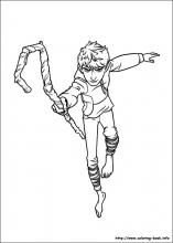 Rise Of The Guardians Coloring Pages On Book