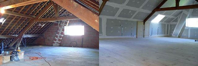 Wcs The Attic Conversion Before And After Attic Conversion