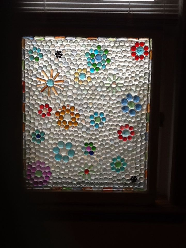 Glass Gem Window Wine Glass Crafts Stained Glass Projects Mosaic Crafts