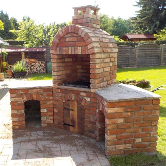 Details zu 1 St. Ziegelstein Outdoor Küche Brotbackofen