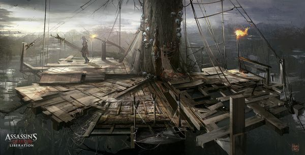 ASSASSIN´S CREED 3: Liberation Concept Art ( Part 2) by Nacho Yagüe, via Behance