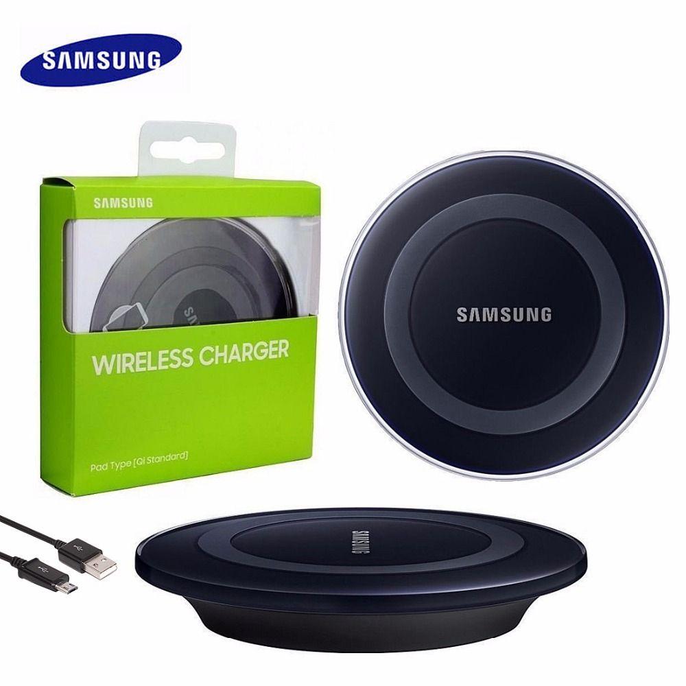 Samsung Chargeur Sans Fil D Origine Qi Charging Pad Pour Samsung Galaxy S6 S7 S7 Bord Note 5 S8 S8 Plus Ep Wireless Charger Samsung Charger New Samsung Galaxy