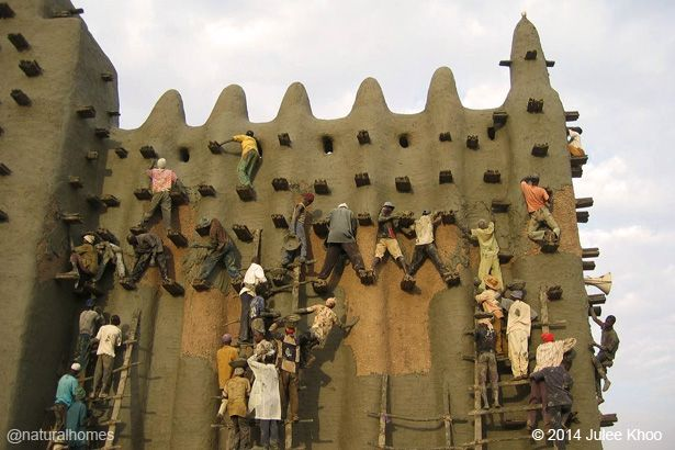 The Great Mosque Djenné Vernacular Architecture Art And Architecture African House