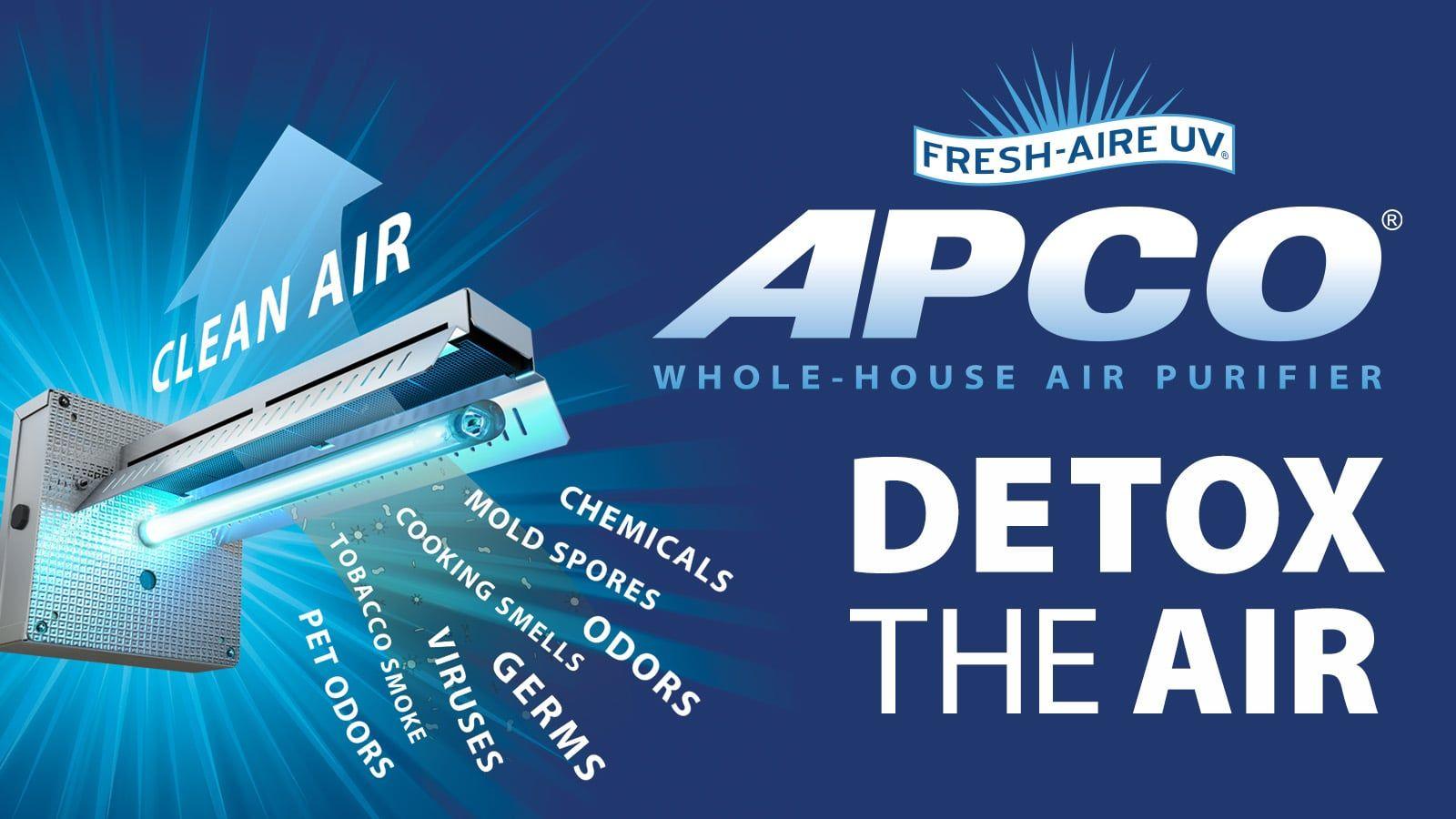 FreshAire UV APCO Home air purifier, Air purifier mold