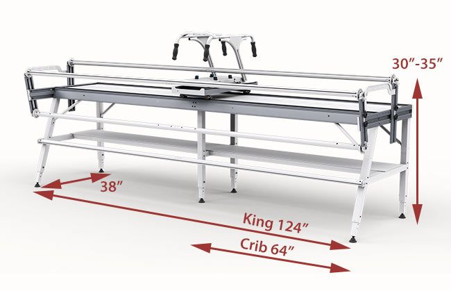 GQ Majestic Longarm Quilting Frame Size $2399 Grace Company ...