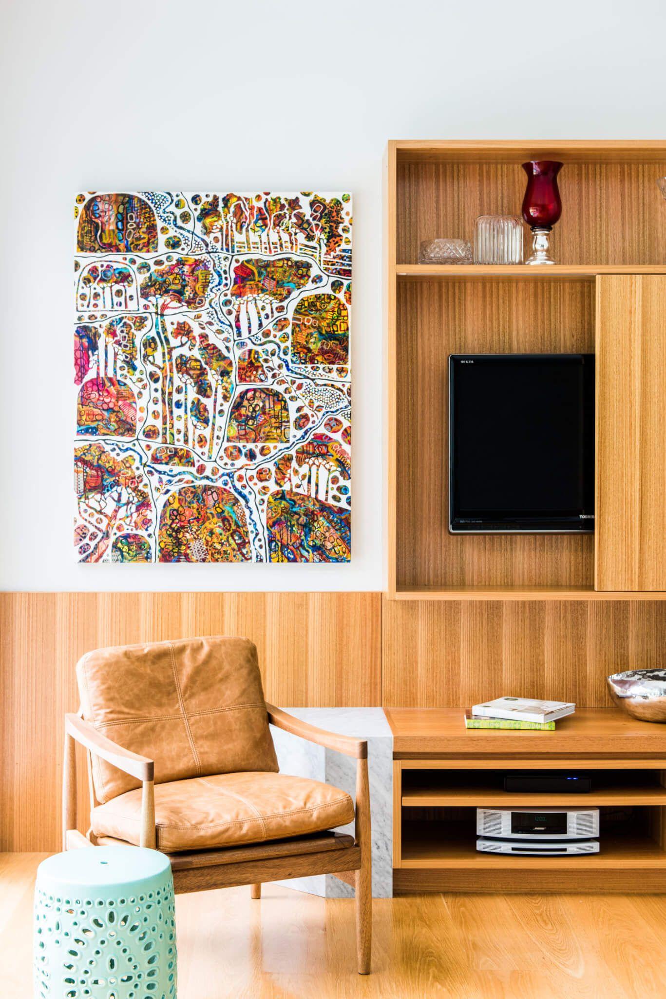 Coorparoo Queenslander | Interior design living room, Mid ...